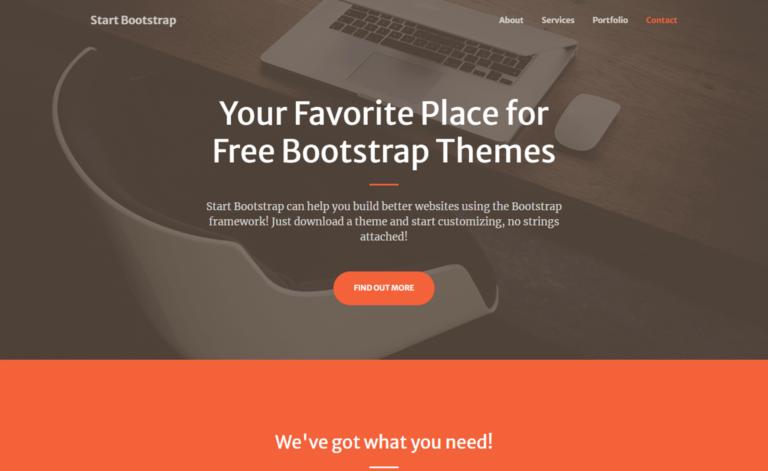 Creative – Free Bootstrap 5 HTML5 Personal Portfolio Website Template